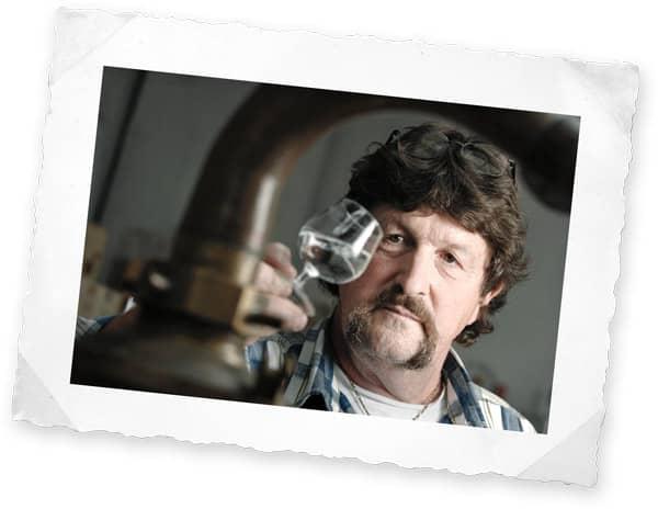 René Wanner, distillateur d'absinthe
