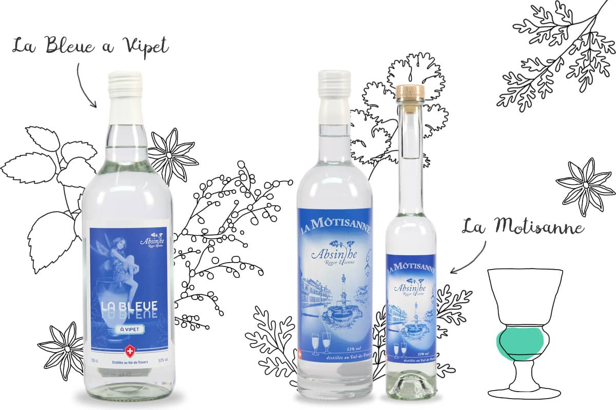 Roger Etienne, distillateur d'absinthe