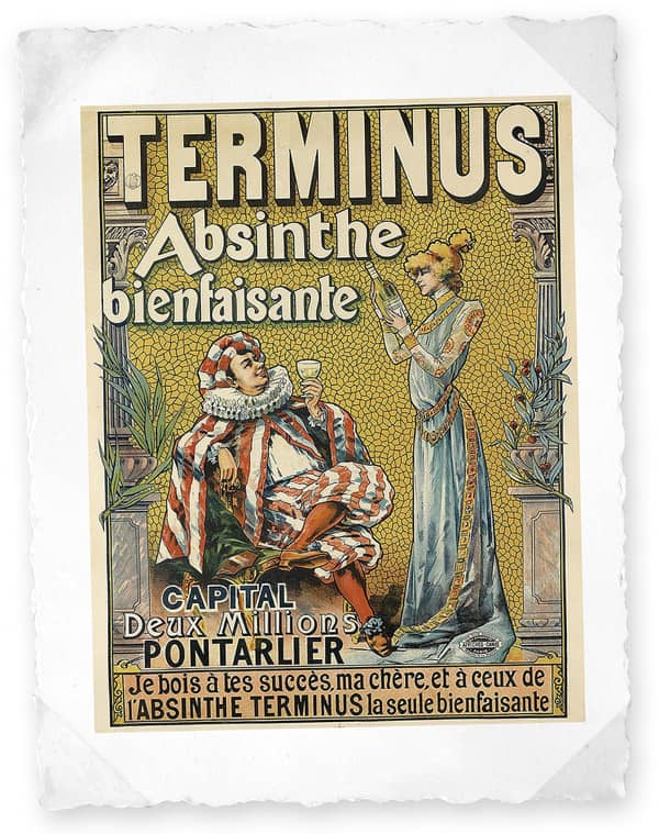 Absinthe Terminus de Pontarlier (1897)