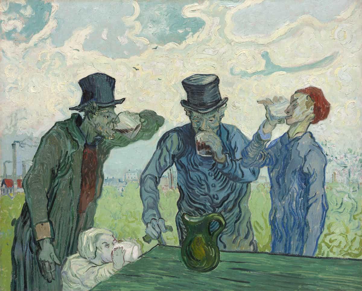 Les Buveurs - Vincent van Gogh