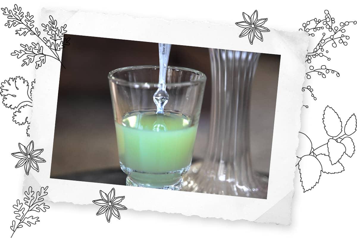Grüne Absinthe