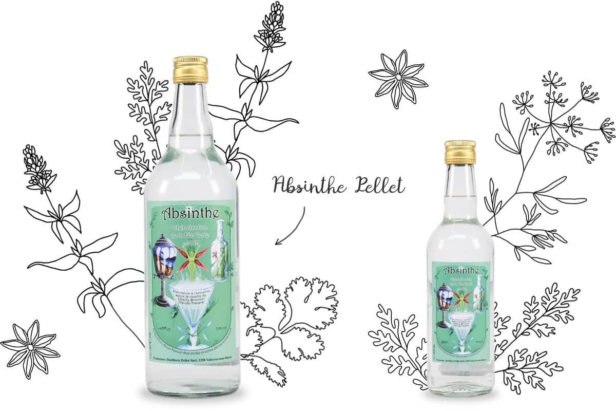 Distillerie d'absinthe Pellet