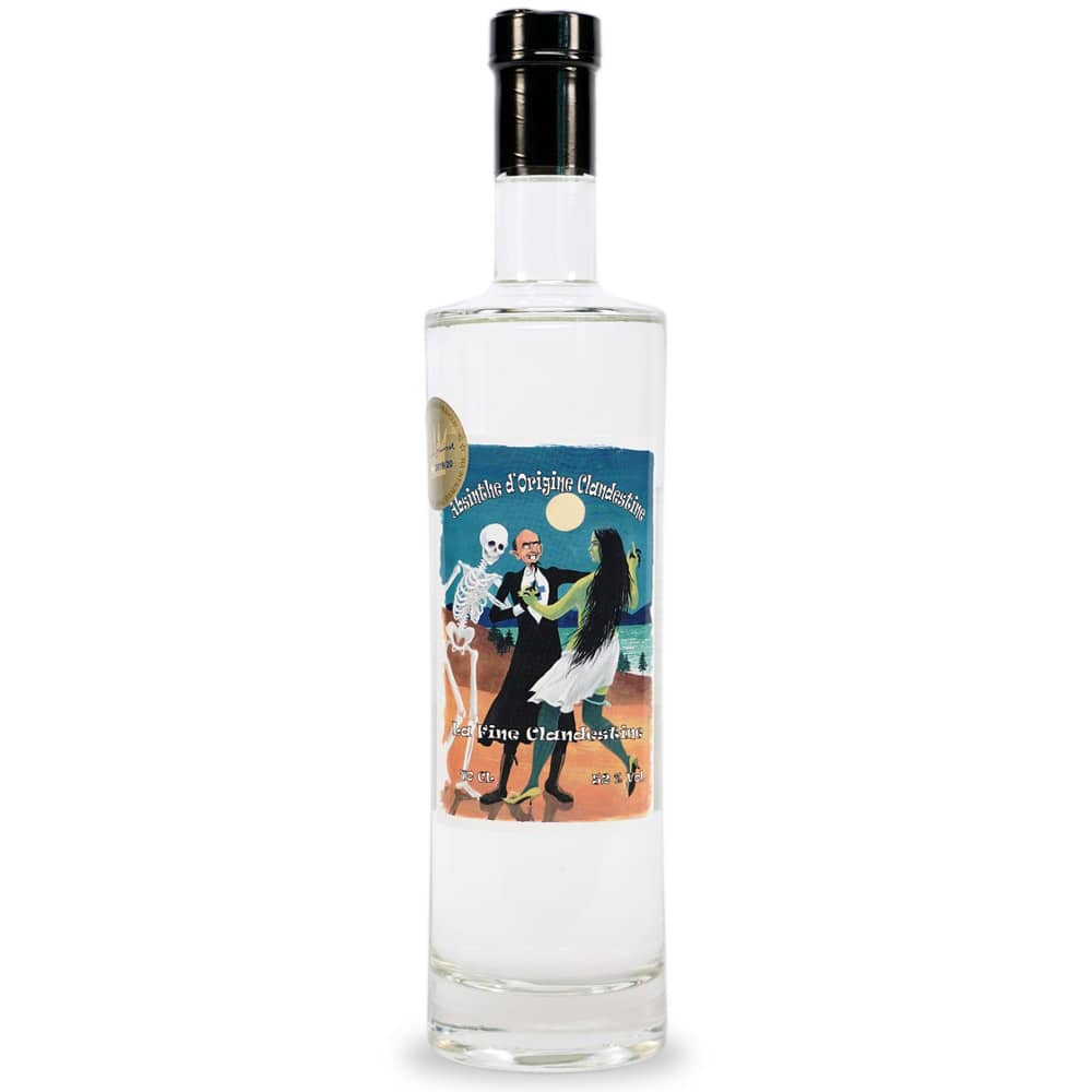 Absinthe La Fine du Clandestin, Distillerie du Val-de-Travers Christophe Racine