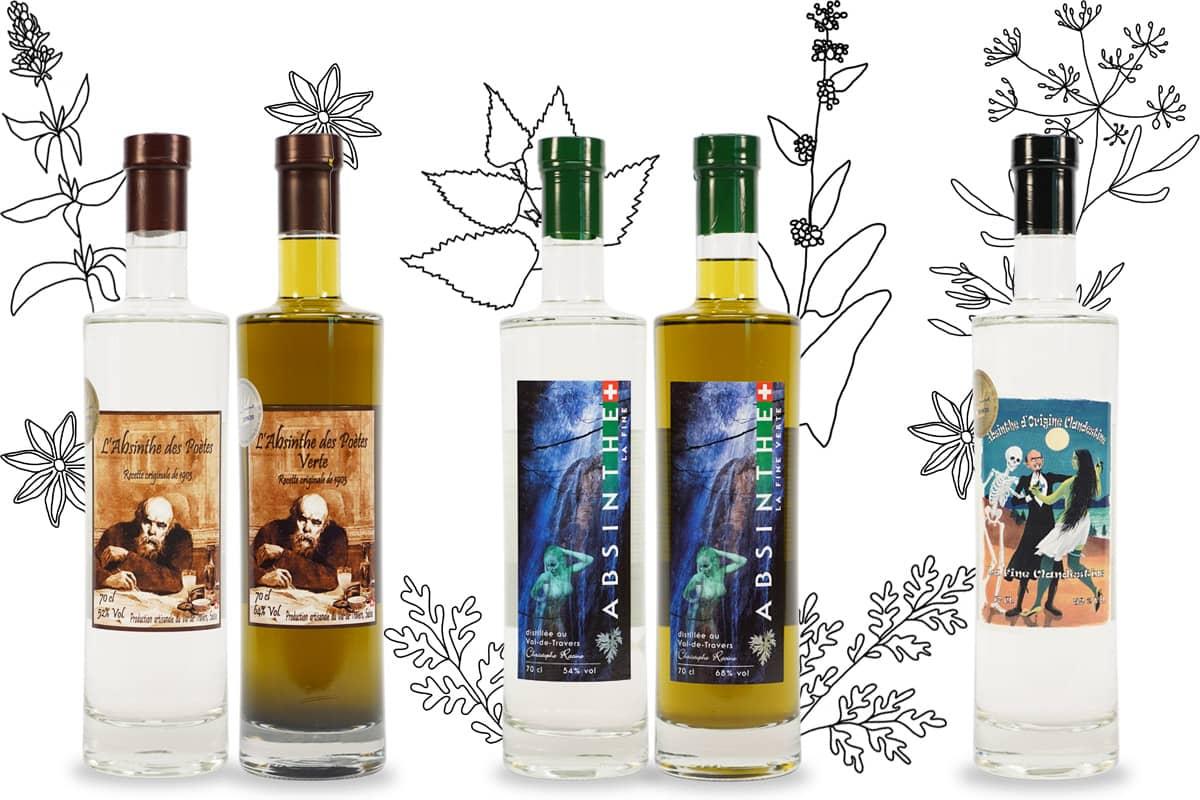 Distillerie du Val-de-Travers, Absinthe Christophe Racine