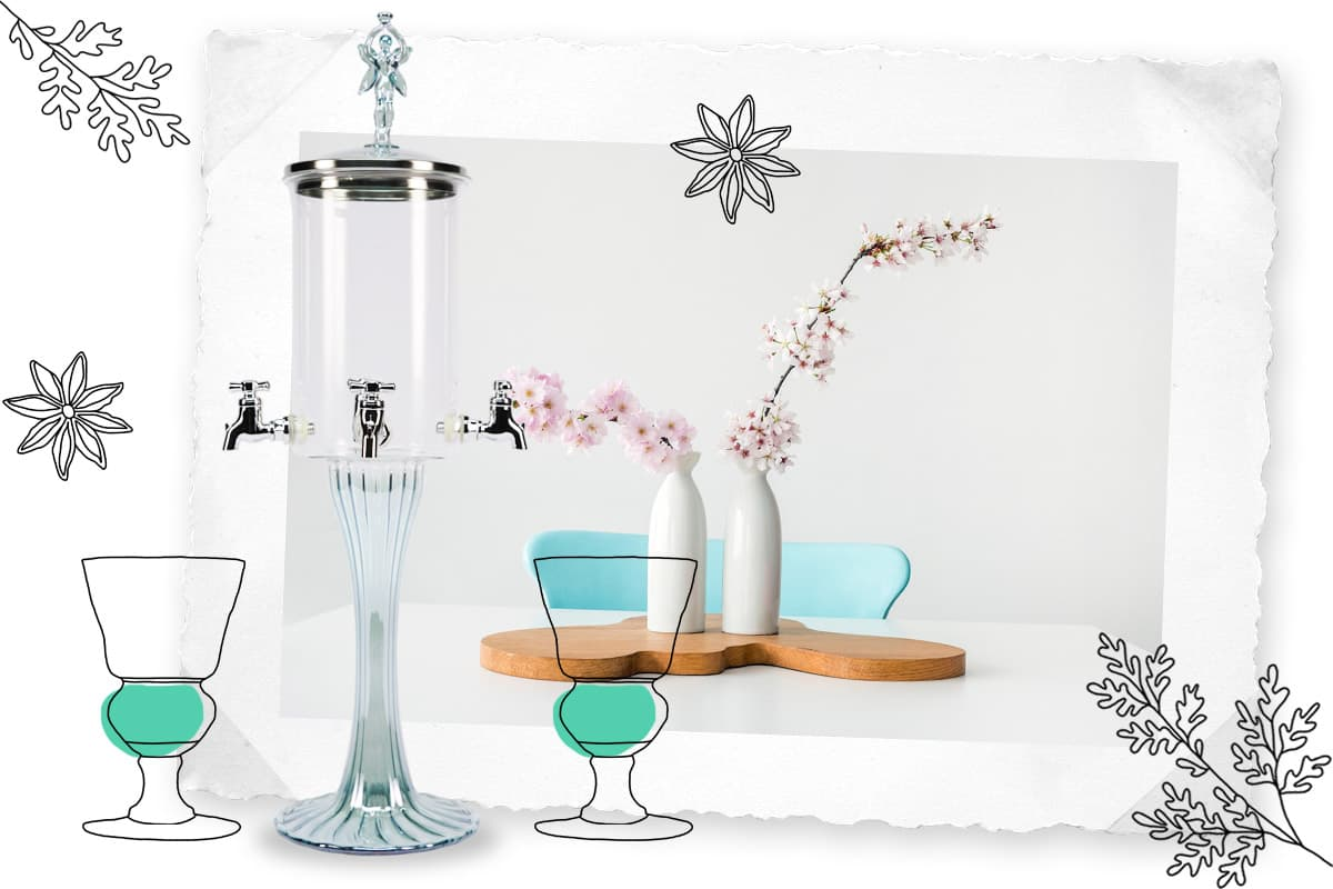 Les fontaines à absinthe