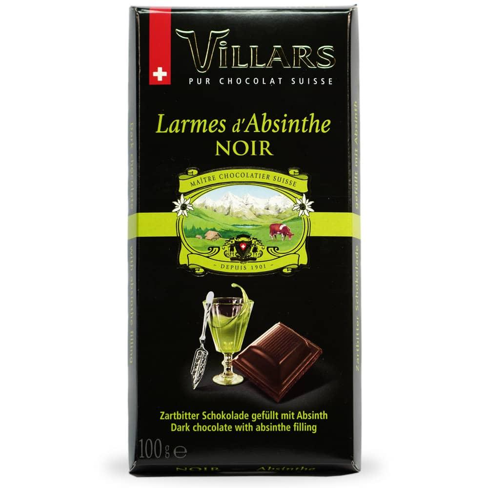 Chocolat à l'absinthe Villars