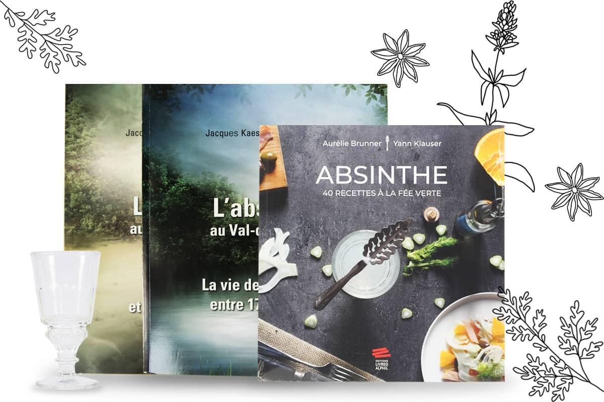 Livres consacrés à l'absinthe