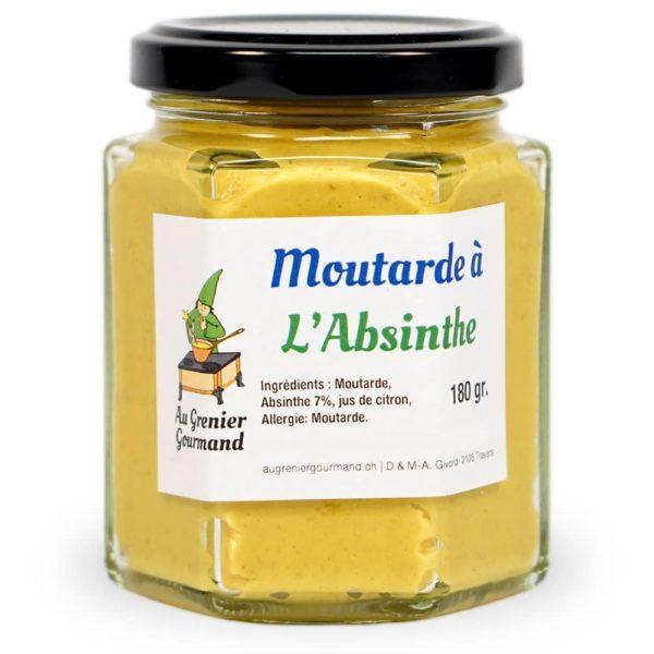 Moutarde à l'absinthe, Au Grenier Gourmand