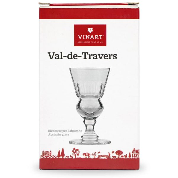 Verre à absinthe Val-de-Travers