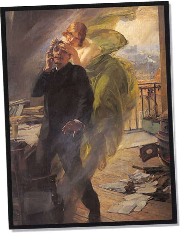 Die grüne Muse, Albert Maignan (1895)