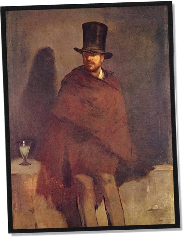 Der Absinthtrinker, Édouard Manet (1859)