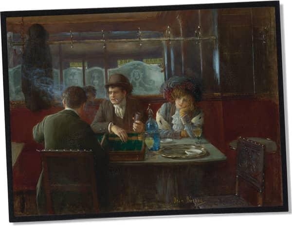 Les joueurs de backgammon, Jean Béraud (1909)