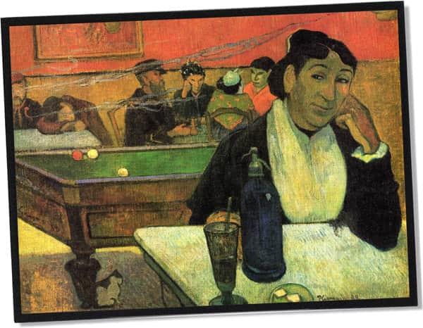 Nachtcafé, Arles, Paul Gauguin (1888)
