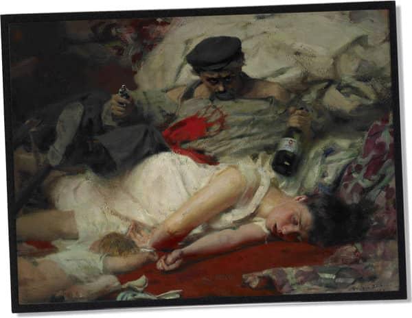 Der Absinth (Der Alkohol, der verrückt macht) Philippe Ernest Zacharie (1909)