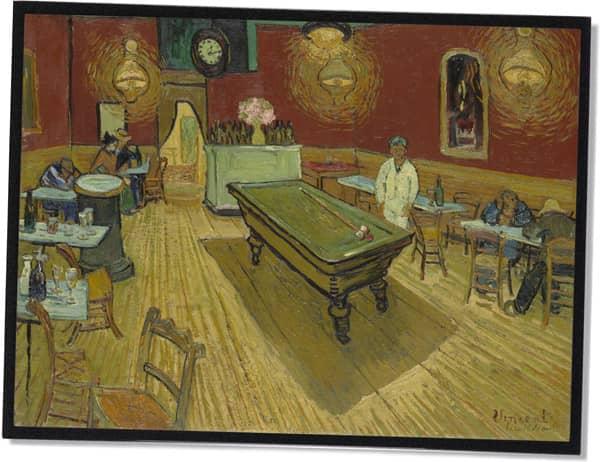 Das Nachtcafé, Vincent Van Gogh (1888)