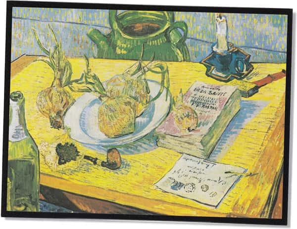 Stillleben mit Zwiebeln, Vincent Van Gogh (1889)